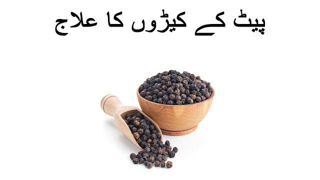 Pet kay keeron ka ilaj hindi aur urdu main