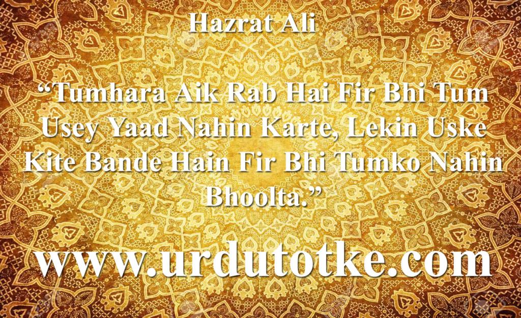 Aqwal E Zareen In Urdu By Hazrat Ali