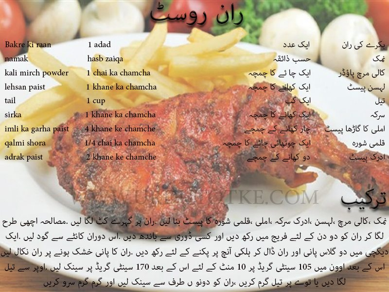 mutton raan roast recipe