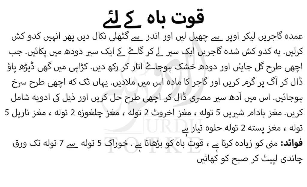mardana kamzori ka desi ilaj urdu mein